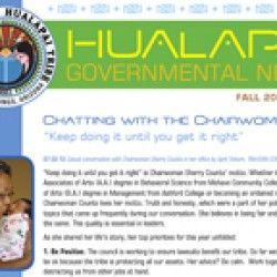 Inaugural Issue of the Hualapai Government Newsletter
