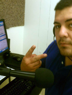 Tim Vaughn, Staff Assistant at the EPCH online radio station