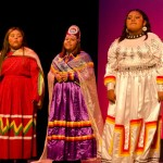 Miss Hualapai, Annette Bender, and bird dancers