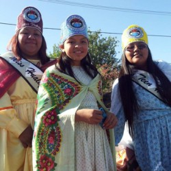 Hualapai Royalty Represent at the 2013 NAC Parade