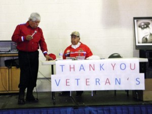 Councilman and Veteran Rocky Imus welcomes all